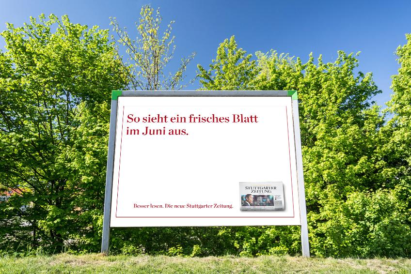 Großfläche // Stuttgarter Zeitung