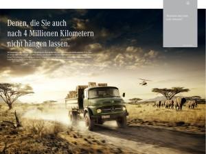 Broschüre // Mercedes-Benz Trucks
