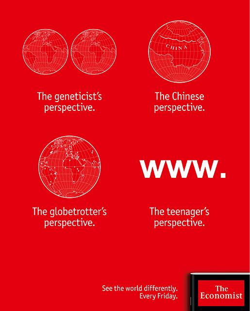Publikumsanzeige // The Economist