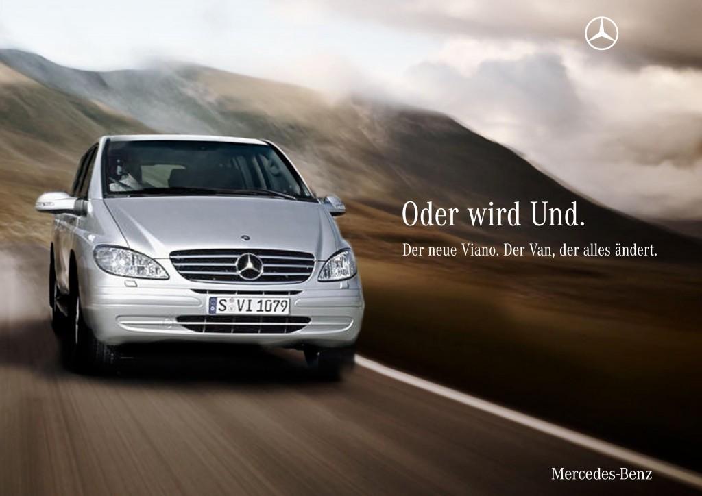 Publikumsanzeige // Mercedes-Benz Viano