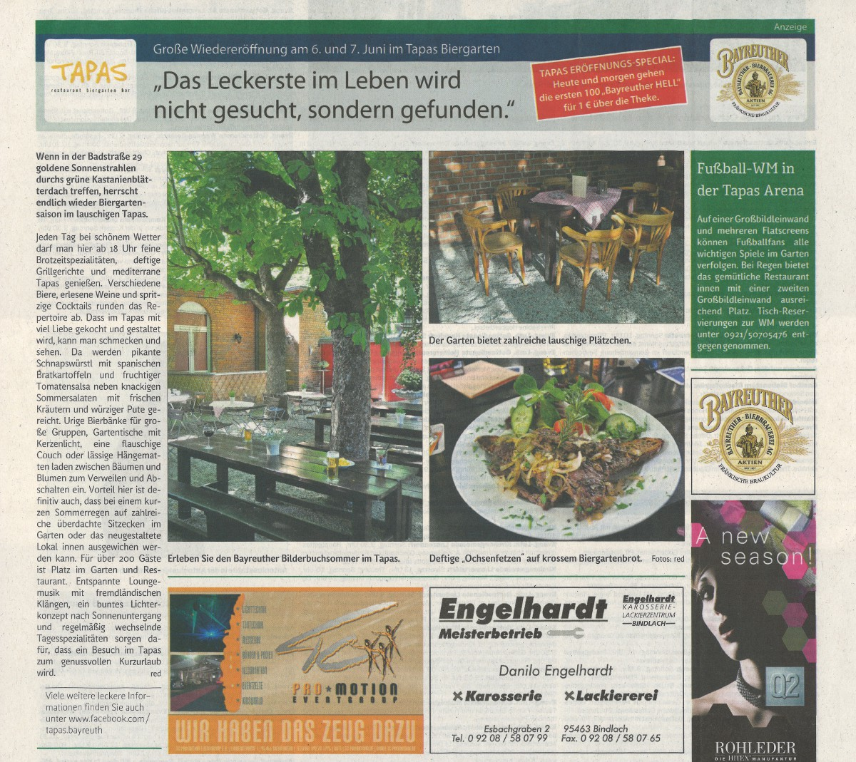 Advertorial // Tapas Biergarten
