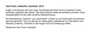 Rezension // Restaurant Soul Food