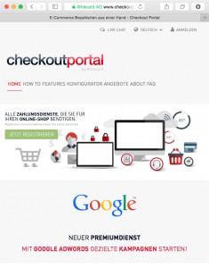 Website // Checkoutportal