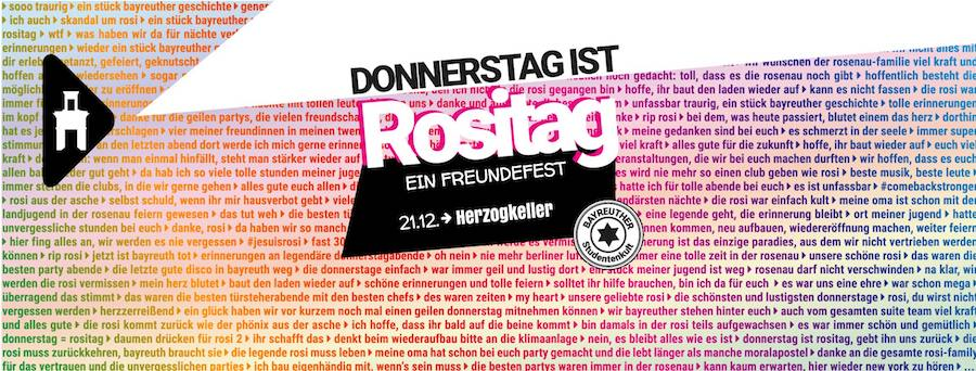 Facebook Event // rosenau Bayreuth