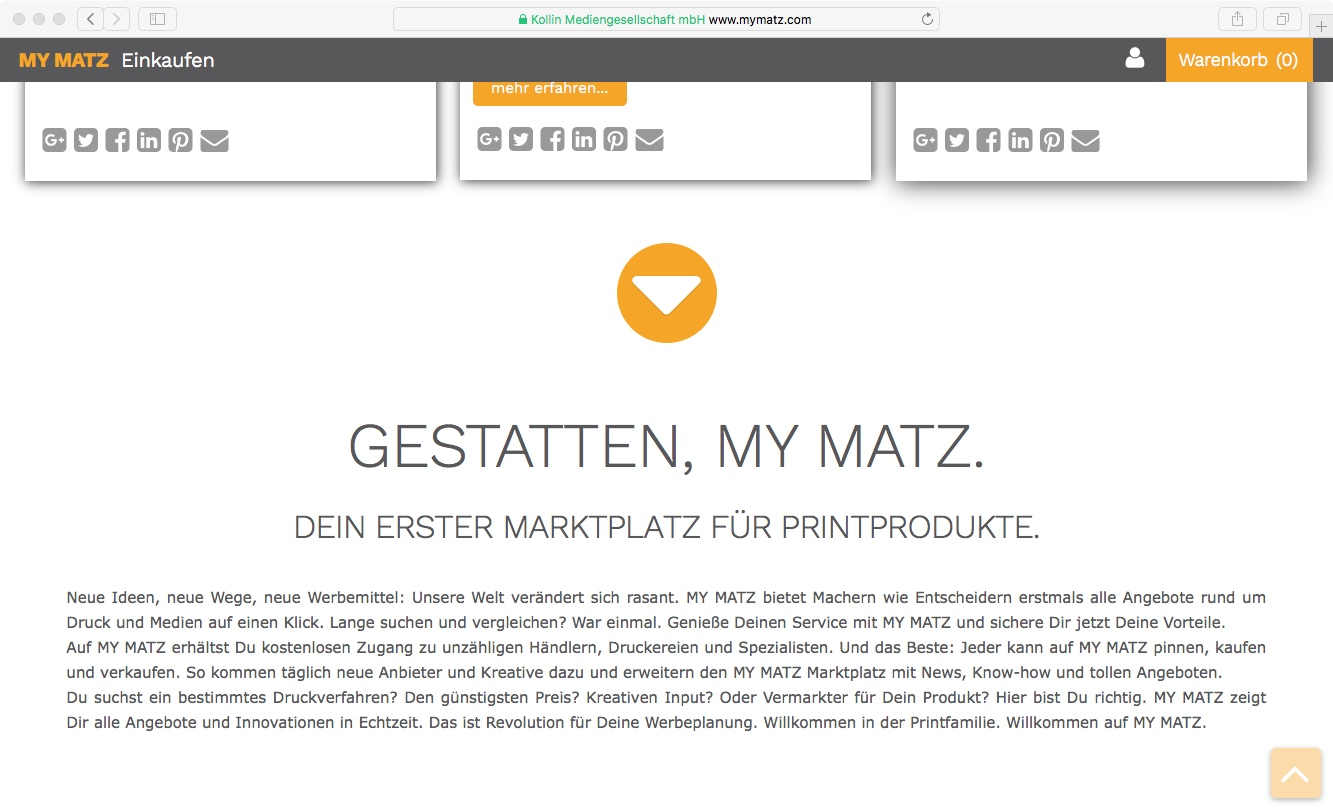 Website // My Matz