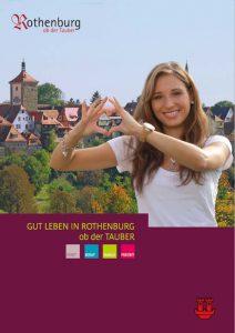 Stadtbroschüre // Rothenburg ob der Tauber