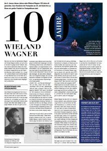 100 Jahre Wieland Wagner // Richard's Magazin