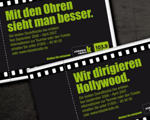 Kinokarten // Klassik Radio